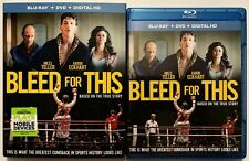 BLEED FOR THIS BLU RAY DVD 2 DISC SET + SLIPCOVER SLEEVE FREE WORLD WIDE SHIPING