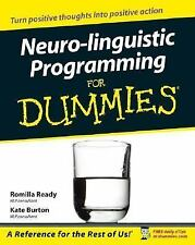 Neuro-linguistic Programming for Dummies Ready, Romilla, Burton, Kate Paperback