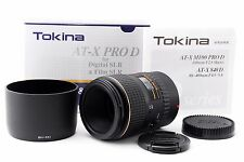 [Mint] Tokina AT-X PRO 100mm f/2.8 AF D MF Lens For Canon W/Box From Japan #1025