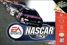 Nascar 99 N64 Great Condition Fast Shipping
