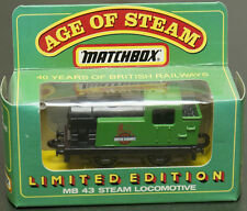MATCHBOX MB43 STEAM LOCOMOTIVE TRAIN 40 years of British Railways