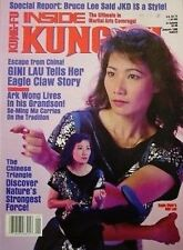 1/90 INSIDE KUNG FU ARK WONG GINI TAU EAGLE CLAW BLACK BELT KARATE MARTIAL ARTS