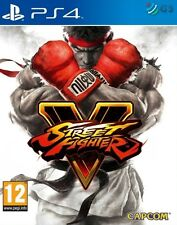 Street Fighter V 5 Steelbook Edition PS4 * NEW SEALED PAL *