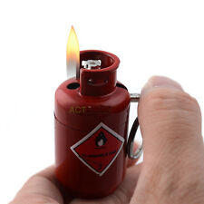 Cigarette Lighter Little Steam Bottle Pattern Refillable Butane Gas Fire Torch