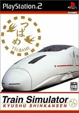 Used PS2 Train Simulator Kyushu Shinkansen Import Japan