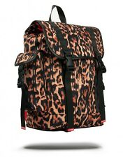 Brand New SPRAYGROUND Leopard Drips Recon Military Utility Bag Backpack