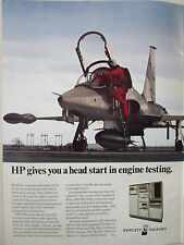 2/73 PUB HEWLETT PACKARD HP 9600 SERIES DATA ACQUISITION SYSTEMS NORTHROP F-5 AD