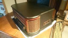 Centro multimedia de Auna ~ Retro Record Player FM Cassette Radio CD MP3 USB