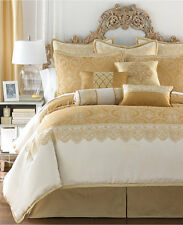 Waterford Sutton Square 4pc Queen Comforter Set, Gold