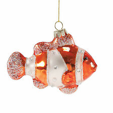 "Dept 56 Nautical Coastal Gone To Beach Clownfish Ornament 4"" New 2016 4053960"
