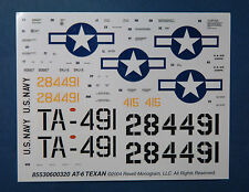 1/48ème  DECALS pour AT-6 TEXAN - REVELL MONOGRAM - NEUF