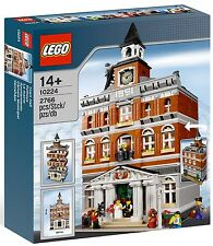 LEGO - CREATOR - 10224 - MAIRIE - TOWN HALL - NEUF ET SCELLÉ - NEW AND SEALED