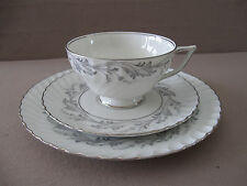 VINTAGE TRIO CUP/SAUCER CAKE PLATE, mrk.1794 ROYAL TETTAU, GERMANY