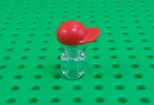 *NEW* Lego Red Baseball Cap Hat for Minifigs Figures Fig x 1 piece