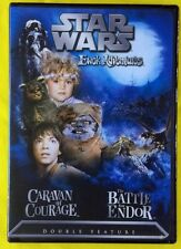 Star Wars Ewok Adventures: Caravan of Courage/The Battle for Endor R1, NTSC, NEW