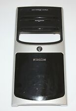 GENUINE FRONT CASE COVER BEZEL FACE PLATE BLACK/SILVER-EMACHINES ET 1831 DESKTOP