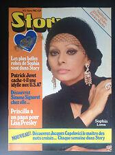 Très Rare Revue magazine Story N° 2 1980 Avec signe zodiaque cadeau Loren  TBE