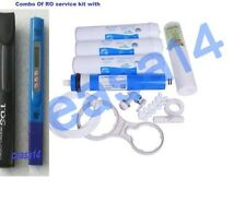 For Water Filter RO Purifier COMPLETE SERVICE KIT+ 75 GPD VONTRON+TDS meter