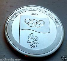 Plata Juegos Olímpicos de Londres 2012 Rio 2016 Antorcha mano sobre juegos Brasil Gran Bretaña