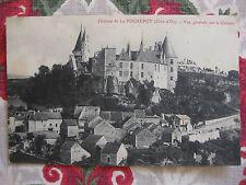 CPA Vue générale Château Rochepot Côte d'Or Bourgogne