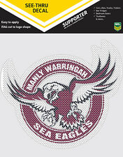 NRL Manly Sea Eagles iTag See-Thru Decal