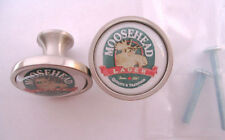 Moosehead Beer Cabinet Knobs, Moosehead Beer Logo Cabinet Knobs, Moosehead Knobs