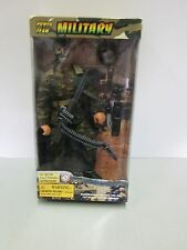 """Excite Power Team Military 12"""" Fully Pose-able Action Figure"""