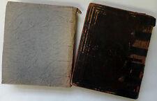 ANTIQUE JEWISH BIBLE OLD TESTAMENT HOLY SCRIPTURES 1898 VIENNA HEBREW ENGLISH