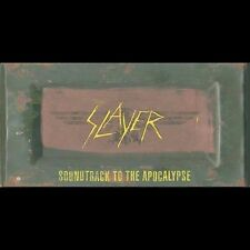 Slayer Soundtrack To The Apocalypse Five (5) CD Box Set 2003 American Recording