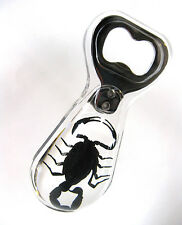 Black Scorpion Beer Bottle Opener Strange Barware Bar Gift Scorpio