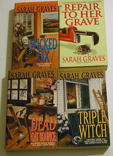Lot of 4 Cozy Mystery PB Sarah Graves Home Repair Is Homicide Mysteries