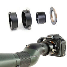 Canon EOS camera adapter for Swarovski Spotting Scope HD 65 80 20-60x eyepiece
