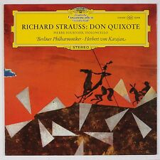 STRAUSS: Don Quixote, Karajan, Fournier Cello DGG 139 009  LP NM