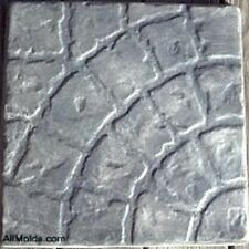 Curved Cobblestone concrete cement stepping stone mold.