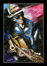 Country Singer ARTPRINT Kollektion Volker Welz Gitarre Bass Folk Music Pop Bild