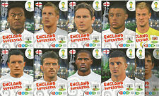 WORLD CUP ADRENALYN XL 2014 COMPLETE 11 CARD BASE SET ENGLAND UK VERSION
