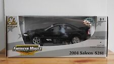 ERTL American Muscle 2004 Saleen Mustang S281 1:18 Diecast 1 of 2500 Limited Ed.
