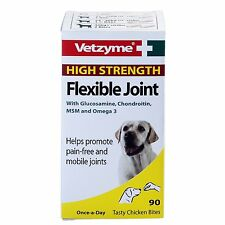 Vetzyme Flexible Joint, Extra strenght Tablets for cats, dogs and pet, 90 Tab