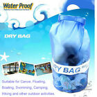 10L Waterproof Dry Bag for Canoe Floating Boating Swimming Camping Hiking Blue
