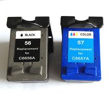 Remanufactured Ink Cartridge for HP 56/57 Photosmart 7760 Printer (Black/Color)