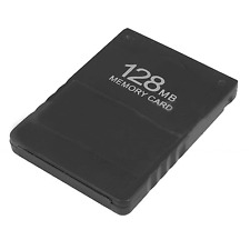 New 128MB Memory Save Card For PS2 Sony Playstation 2 Game Data MB Stick 2 #254