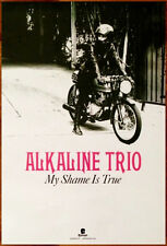 ALKALINE TRIO My Shame Is True 2013 Ltd Ed New RARE Poster +FREE Punk Poster!