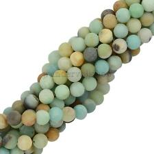 Amazonite Edelstein Lose Perlen Gemstone Spacer Beads Schmuck 8mm