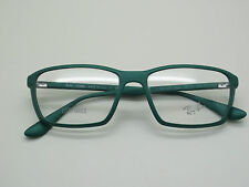 NEW Authentic Ray Ban RB 7018 5252 LITEFORCE Matte Green 54mm RX Eyeglasses