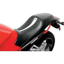 SADDLEMEN Gel-Channel Track One-Piece Solo Seat w/Rear Cover (0810-0837)