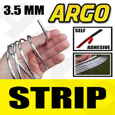 CHROME STYLING STRIP TRIM CAR VAN 3.5MM x 3.65M