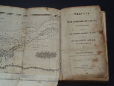 TRAVELS IN THE INTERIOR OF AFRICA: Mungo Park / South Africa  Tribes / Maps 1822