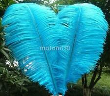 10PCS Fluffy Ostrich Feathers Plume Wedding Party Table Decor Craft Mask Hat