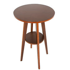 Small Tall Table High Top Kitchen Breakfast Dining Pub Pedestal Bar Bistro Room