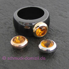 Melano magnetic adaptador para anillo 10 mm-ocre-negro acero inoxidable